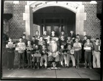 Image of Christmas At Briscoe Boys School - Print, Photographic
