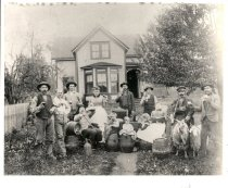 Image of Nelson Home, Beer Party - Print, Photographic