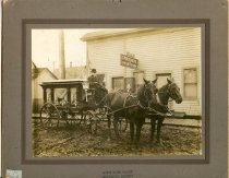 Image of Hearse, C.G. Chittenden - Print, Photographic