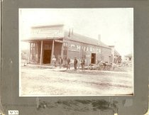 Image of Rasmussen and Madsen Blacksmith Shop - Print, Photographic