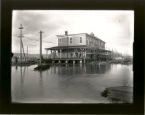 Image of Flood at Interurban Station - Print, Photographic