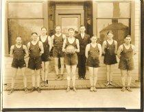 Image of Orilla Basketball Team - Print, Photographic