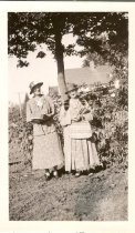 Image of Metta Jensen and Mrs. Treager - Print, Photographic