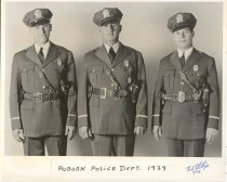 Image of Auburn Police Department Officers - Print, Photographic