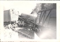 Image of RR  Wreck - Print, Photographic