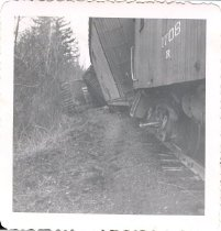 Image of Railroad Wreck (derailment) - Print, Photographic