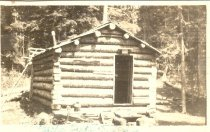 Image of Traeger Cabin on Echo Lake - Print, Photographic