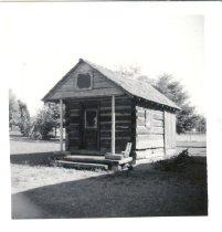 Image of Log Cabin - Print, Photographic
