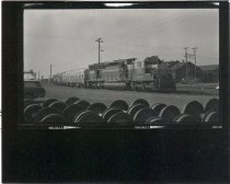 Image of Demonstration locomotives - Print, Photographic