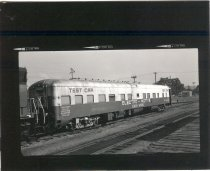 Image of Locomotive Test Equipment at Auburn Roundhouse - Print, Photographic