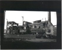 Image of Pacific Coast Railroad Engine 18, Seattle - Print, Photographic