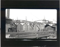 Image of Pacific Coast RR Roundhouse, Seattle - Print, Photographic