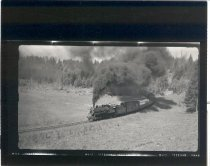 Image of NP Train Above South Prairie Loop - Print, Photographic