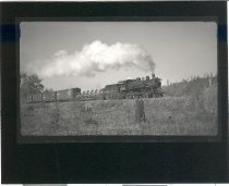 Image of NP Train, White River Bridge, Buckley - Print, Photographic
