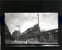Image of PCRR Train arriving at Maple Valley - Print, Photographic