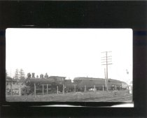 Image of NW Historical Society engine and train - Print, Photographic