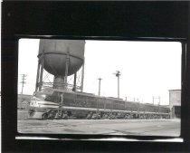 Image of Auburn Diesel Shop and Locomotive - Print, Photographic