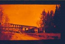 Image of New Railroad Construction at Kanaskat - Print, Photographic