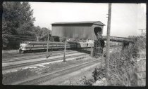 Image of GNRY Freight train at Allentown (Tukwila) - Print, Photographic