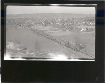 Image of Eastbound train leaving East Auburn - Print, Photographic