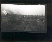 Image of View of NP Roundhouse looking north - Print, Photographic