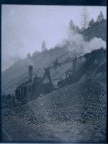 Image of RR Excavation Equipment - Print, Photographic