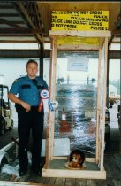 """Image of Auburn Police/""""Good Old Days"""" Parade Float - Print, Photographic"""