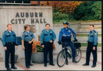 Image of Auburn Police Officers - Print, Photographic