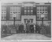 Image of The Japanese Assocation of Auburn Presents Lights to Auburn High School - Print, Photographic