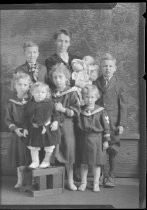 Image of Unidentified Family - Negative, Film