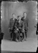 Image of 3 boys - Print, Photographic