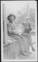 Image of Elmer Johnson and John Anderson