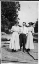 Image of 2 Women and a Man - Print, Photographic
