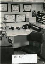 Image of Auburn Police/ID Bureau Office - Print, Photographic