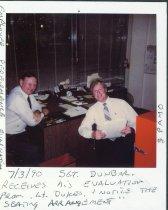 Image of Auburn Police/Sgt Dunbar and Lt. Dukes - Print, Photographic