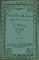 Image of Cover of the Women's Christian Temperance Song Book