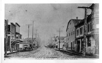 Image of Auburn's Main Street, Looking East - Print, Photographic
