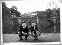 Image of Two Men By Bridge - Print, Photographic