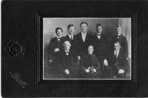 Image of Benjamin Henry Allmain Family - Print, Photographic