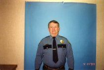 Image of Police Department Officer Morris Quimby - Print, Photographic