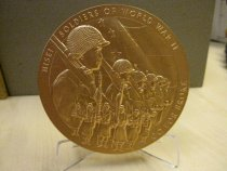 Image of Nisei Soldiers of World War II Bronze Medal - Medal, Commemorative