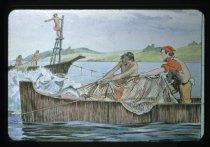 "Image of ""PIONEER SALMON FISHERY AT SAN JUAN ISLAND"" - Transparency, Slide"