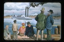"""Image of """"A NEW STEAMBOAT FOR THE COLUMBIA RIVER"""" - Transparency, Slide"""