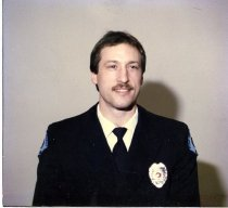 Image of Auburn Fireman Michael Gerber - Print, Photographic