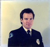 Image of Auburn Fireman Michael Batchelor - Print, Photographic