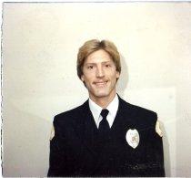 Image of Auburn Fireman Karl Hoel - Print, Photographic