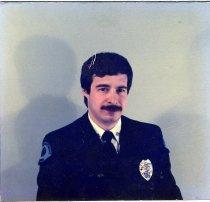 Image of Auburn Fireman Gregg Peterson - Print, Photographic