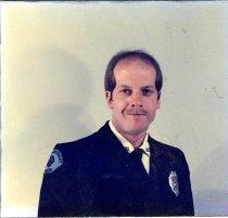Image of Auburn Fireman Dale Laginess - Print, Photographic
