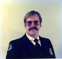 Image of Auburn Fireman Doug DeGraff - Print, Photographic