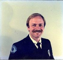 Image of Auburn Fireman Rudy Peden - Print, Photographic